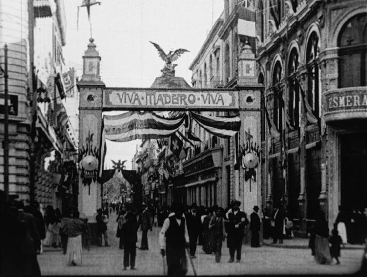 Arco triunfal Toma de posesión de Madero
