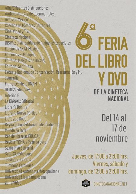 Cartel 6ª Feria del Libro