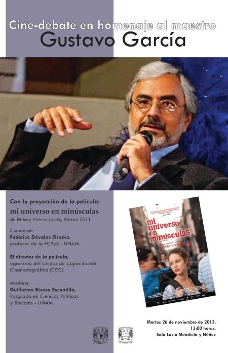 homenaje Gustavo Garciěa