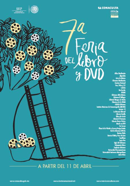 Cartel 7a Feria del Libro y DVD