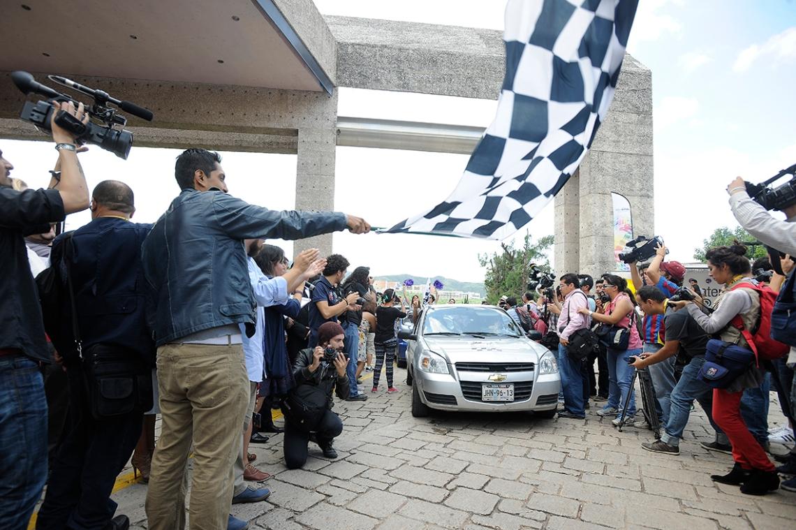 Banderazo Rally GIFF 2014