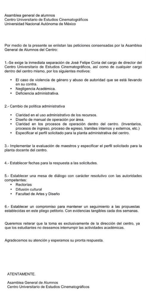 Pliego Petitorio CUEC1