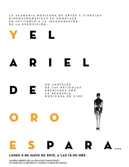 Cartel Ariel de Oro ch