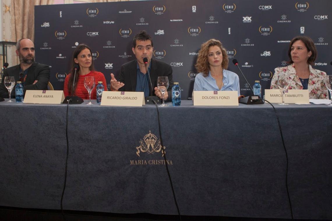 Luis Tosar, Elena Anaya, Ricardo Giraldo, Dolores Fonzi, Marcia Tambutti2