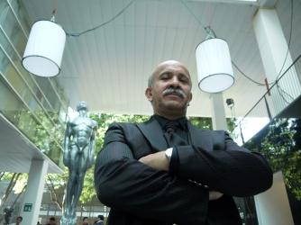 """Héctor Holten, nominado a Mejor Actor de Cuadro por """"El vigilante"""". Foto: Sergio Raúl López."""