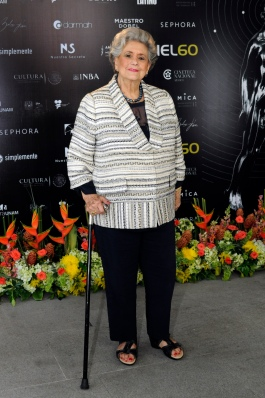 La actriz Queta Lavat, Ariel de Oro por Trayectoria. Foto: Pedro González Castillo.