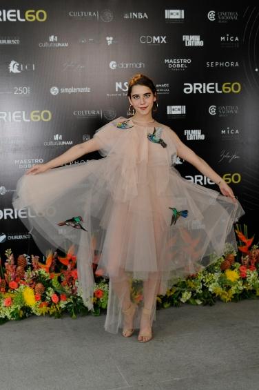 """Tessa Ia, nominada a Coactuación Femenina por """"Los adioses"""". Foto: Pedro González Castillo."""