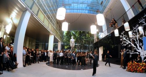 Los nominados a la LX entrega del Ariel mientras se van acomodando para la imagen oficial. Foto: Pedro González Castillo.
