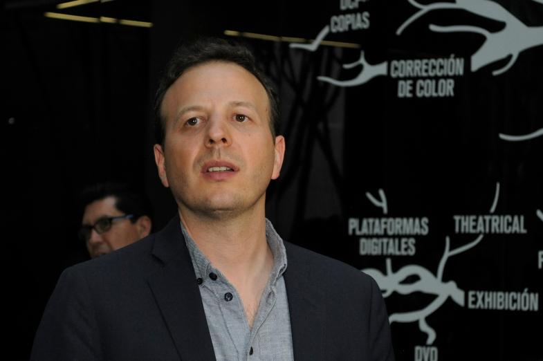 """Amat Escalante, director de """"La región salvaje"""". Foto: Pedro González Castillo."""