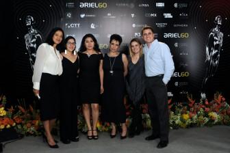 Parte del equipo que organiza el LX Ariel. Foto: Pedro González Castillo.