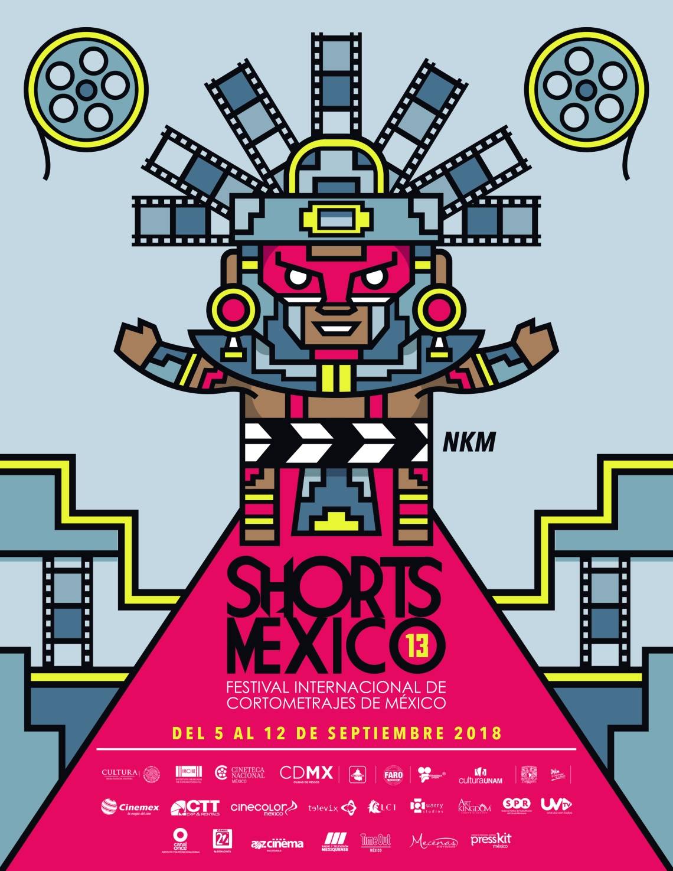 POSTER SHORTS MEXICO 2018
