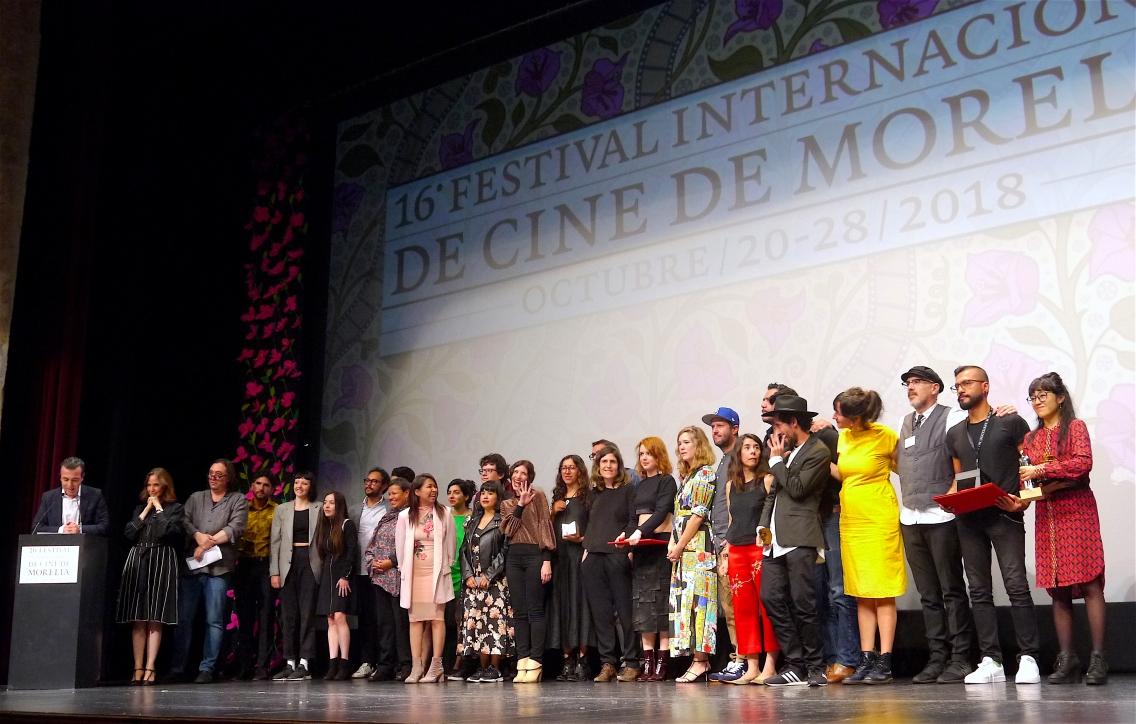 Premiación XVI FICM